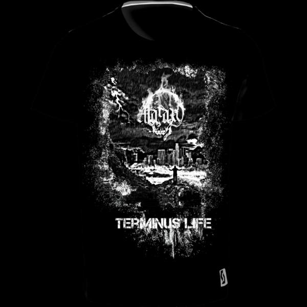 shirt schwarz freigestellt